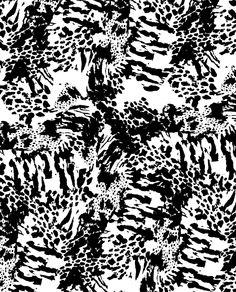 Fluro mixed animal skins surface design