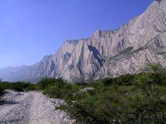 Sierra de Monterrey Nuevo Leon Mexico Mexique
