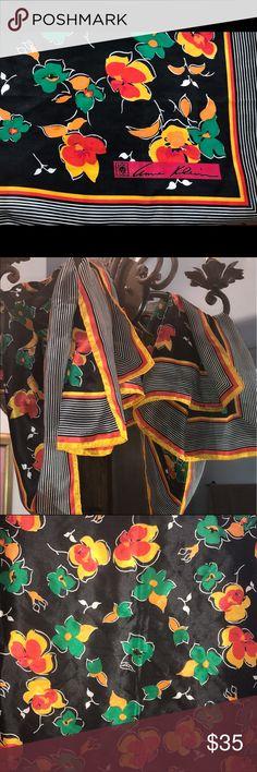 """Anne Klein Scarf Classic Silk Anne Klein Scarf • 26"""" x 25"""" EUC• Anne Klein Accessories Scarves & Wraps"""