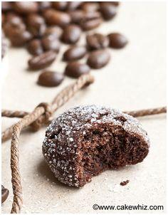Mocha crinkle cookies - Cakewhiz