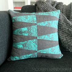 Hi friends, Today I am sharing a bit about how to make a stacked dresden pillow!