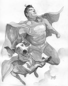 Superman & Krypto by Renato Guedes