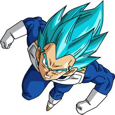 Vegeta SSJ Blue by SaoDVD on DeviantArt