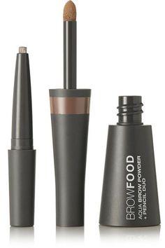 LashFood - Browfood Aqua Brow Powder Pencil Duo - Dark Blonde - Neutral - one size