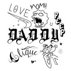 – tattoos – – Graffiti World Lil Peep Tattoos, Daddy Tattoos, Mini Tattoos, Future Tattoos, Body Art Tattoos, New Tattoos, Small Tattoos, Sleeve Tattoos, Ankle Tattoos