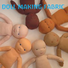 Waldorf Doll Fabric 3/4 Yard