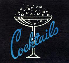 Cocktails-Matchbook