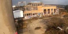 Vidéo de drone dans un abattoir abandonné  http://www.drone-trend.fr/video-de-drone-dans-un-abattoir-abandonne-1582 #drone #urbex #video