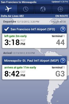 When you want to double-check that your flight's on time. | 12 Apps You've Gotta Have If You're Always Traveling
