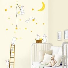 Decowall,DP-08165,Rabbits in the moon,Home Art Decoration-wall stickers by Fixpix, http://www.amazon.co.uk/dp/B008H1NCTU/ref=cm_sw_r_pi_dp_aN-.rb1CK54GR
