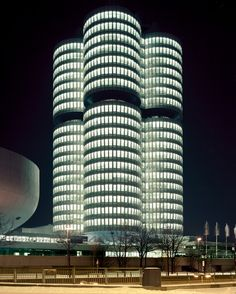 The OMV Borealis Refinery on the German/Austrian Frontier and the BMW Headquarters in Munich.