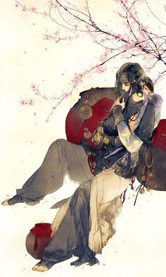 Môn phái: Cái Bang (nam), Vạn Hoa (loli) - Game: VLTK 3D - Artist: 伊吹五月 (Ibuki Satsuki) | Periacon Anso