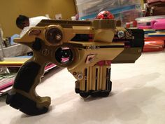 Steampunk Pink spirit (Steampink) gun from laser tag gun