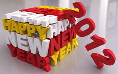 40 Really High Quality New Year 2012 Wallpapers