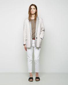 ISABEL MARANT ÉTOILE | Calvin Blanket Blazer | Shop @ La Garçonne