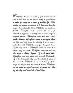 "Book of Shadows ""Whitelighter Notes"""