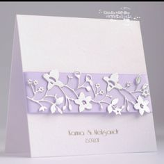I can see this card used for many different occasions: weddings, placecard, 3x3 tags