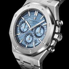*Blog Update - Read iN!* #AudemarsPiguet 38mm Royal Oak Light-Blue Limited Edition xxx/100 * Touch The Sky!