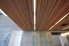 Image result for wood floating ceiling