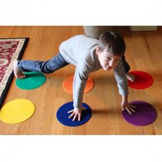 Spot Markers for Kids are perfect visual learning cues for teaching children crucial social skills such as respecting personal space.