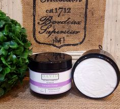 All-Natural Lavender Orange Whipped Body Butter
