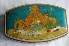Vintage Cinderella Rileys Toffee Tin Box England