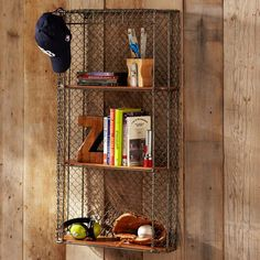 Industrial Metal Shelf | PBteen