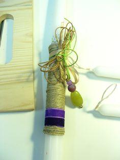 πασχαλινες λαμπαδες Easter Ideas, Easter Crafts, Candle Making, Plant Hanger, Wax, Candles, Places, Home Decor, Easter