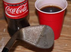 Cómo eliminar el óxido con cola - http://decoracion2.com/como-eliminar-el-oxido-con-cola/59833/ #Cocacola, #ConsejosLimpieza, #Desatascar, #EliminarOxido, #LimpiarConCola, #TrucosCaseros #Consejos, #Recursos