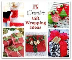 Creative wrapping ideas Top This Top That