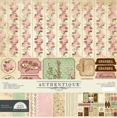 "Authentique Paper: Announcing: ""Cherish"" ...a Petite Collection by Authentique Paper"