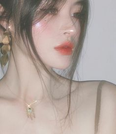 Pretty Korean Girls, Korean Beauty Girls, Cute Korean Girl, Cute Makeup, Pretty Makeup, Makeup Looks, Aesthetic People, Aesthetic Girl, Makeup Inspo
