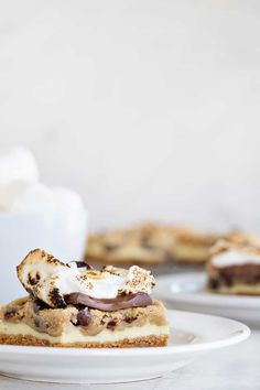 Cookie Dough Cheesecake S'mores