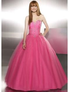 Beaded Ball Gown Strapless Sweetheart Vintage Prom Dresses