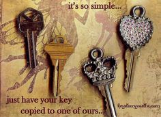 which would you rather carry everyday..? #keystomycastle.com