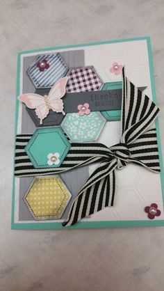 Stampin up Six sided sampler