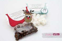 Auf den Weihnachtsmärkten war Rentierkacke und Schneemannfürze der Renner. Ich musste mehrfach nachbasteln. Die Schneemannfürze sind Mini-Marshmallows. Ein