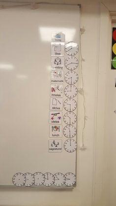 Klassrums schema. Classroom schedule. Klassrum.