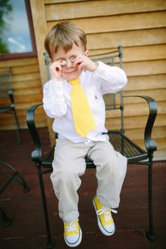 Cute ring-bearer