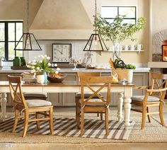 Our Keaton Extending Table is perfect for company. #potterybarn