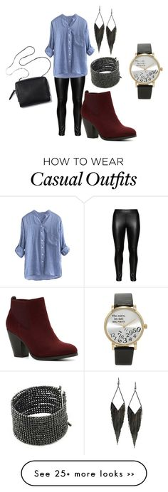 """""""Casual concert"""" by kaitlyn-guilliams on Polyvore featuring Studio, GUESS, Call it SPRING and Forever 21"""