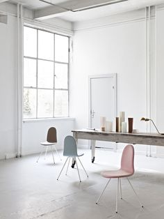 Tongue chair by Arne Jacobsen relaunched by Danish brand Howe.