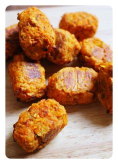 Sweet Potato Tots! Gluten Free, Dairy Free & Paleo. Recipe on www.thelittlegreenspoon.com