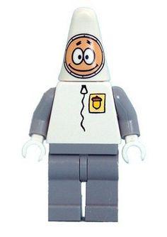 LEGO Spongebob LOOSE Mini Figure Spacewalk Patrick by LEGO. $8.40. Exclusive to LEGO Set 3831 Rocket Ride