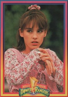 Pink Ranger Kimberly - Amy Jo Johnson I like from Flashpoint but I do remember watching her with my nephew Evan. He liked the white power ranger. Power Rangers 1995, Pink Power Rangers, Pink Ranger Kimberly, Kimberly Hart, Amy Jo Johnson, Miss The Old Days, Pawer Rangers, Mighty Morphin Power Rangers, 90s Kids
