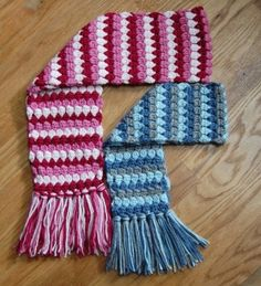 Mod Scarf Crochet Pattern (3 sizes: toddler, child, teen/adult). $3.50, via Etsy. by marisa