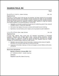 Resume Sample  Cna