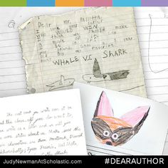 On our new blog, judynewmanatscholastic.com, you'll find Dear Author, a showcase for letters from readers to their favorite authors and illustrators. #JNBlog #Blog #DearAuthor #Author #Illustrator