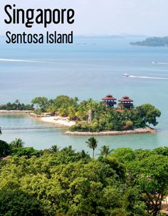 Singapore - Sentosa Island is just like on huge theme park on a tropical island | Singapore Travel Tips