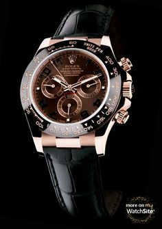 Cosmograph Daytona - Everose Gold - Chocolate Brown Dial -